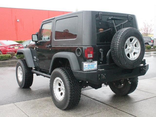 2008 Jeep Wrangler 1500 Extended Cargo Clean