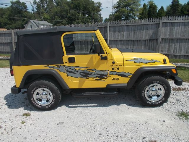 2002 Jeep Wrangler Unlimited SW2