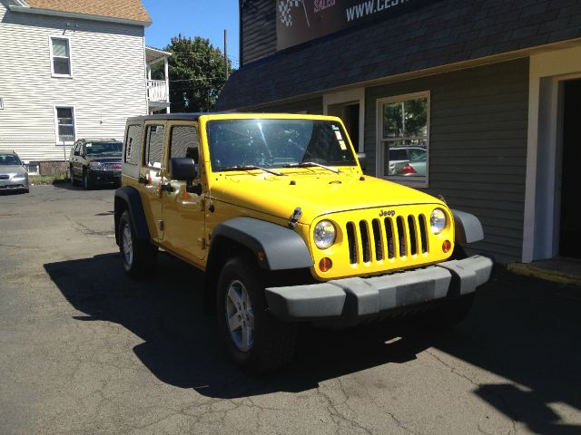 2008 Jeep Wrangler Unlimited 1500 Extended Cargo Clean