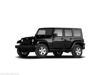 2008 Jeep Wrangler Unlimited 4dr 2.9L Twin Turbo AWD W/3rd