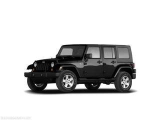 2008 Jeep Wrangler Unlimited 4dr 2.9L Twin Turbo AWD W/3rd