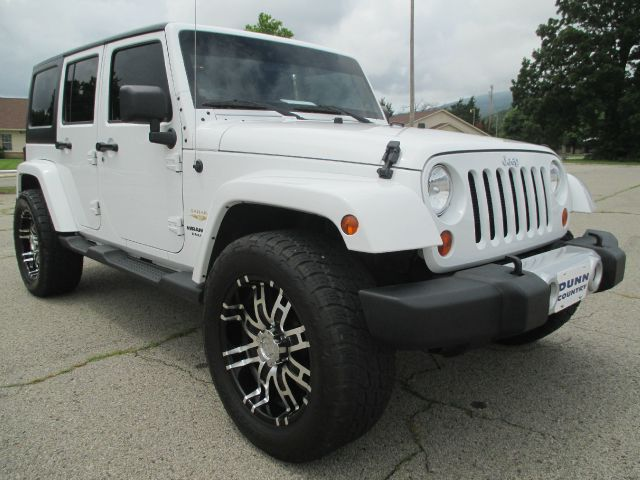 2012 Jeep Wrangler Unlimited Crew Cab Amarillo 4X4