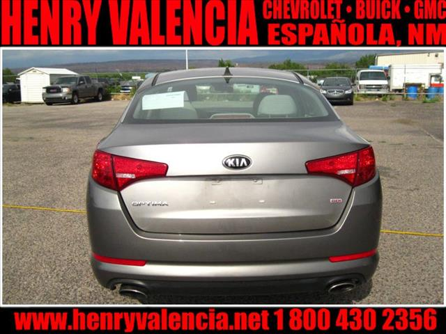 2013 Kia Optima 4DR SE (roof)