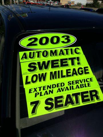 2003 Kia Sedona Elk Conversion Van