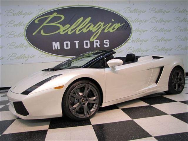 2008 Lamborghini Gallardo Cls550 4-door Coupe