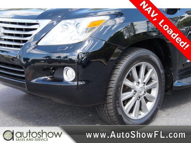 2011 Lexus LX 570 Crew Cab Amarillo 4X4