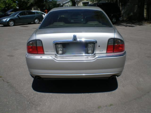 2005 Lincoln LS Red Line