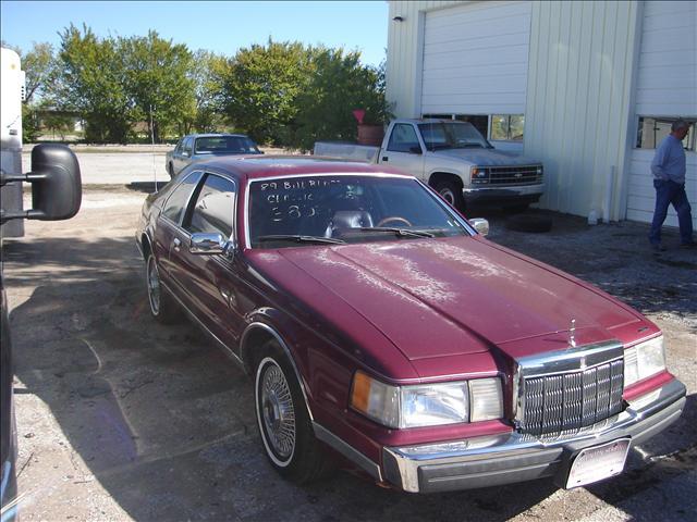 1989 Lincoln Mark VII GLS Wolfsburg