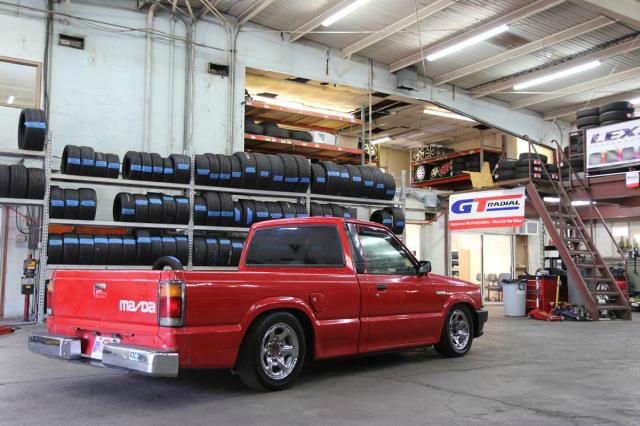 1987 Mazda B-Series Touring - Navigation