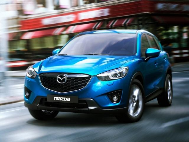 2013 Mazda CX-5 Sport With In-dash 6 Disc Changer