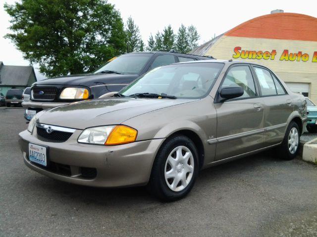1999 Mazda Protege 4DR SE (roof)