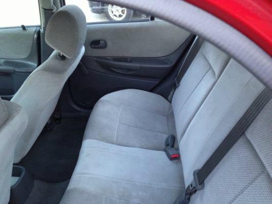 1999 Mazda Protege 4x4 Z85 Extended CAB