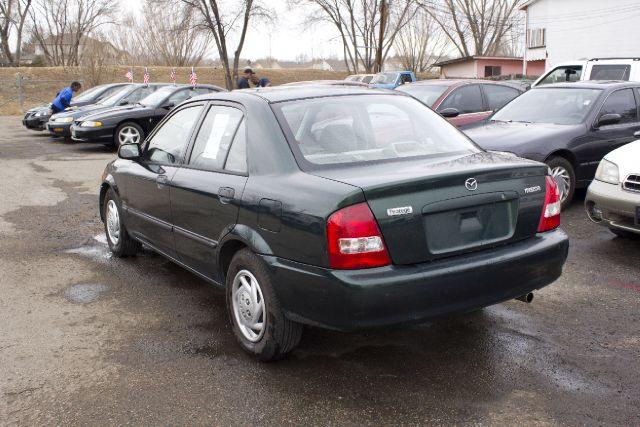2000 Mazda Protege 4x4 Z85 Extended CAB