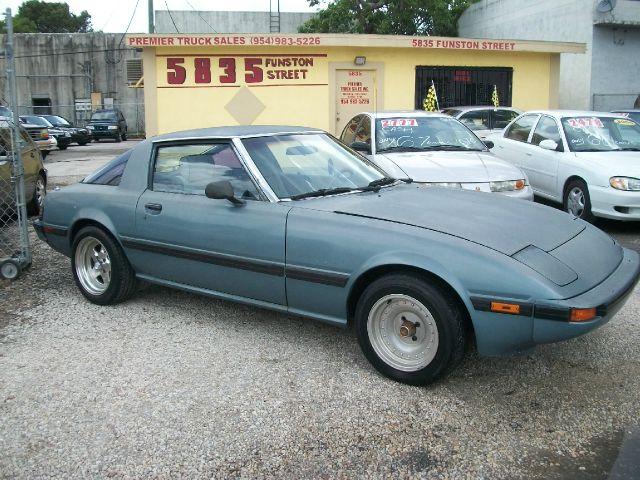 1985 Mazda RX-7 Sltquad Cab 4x4