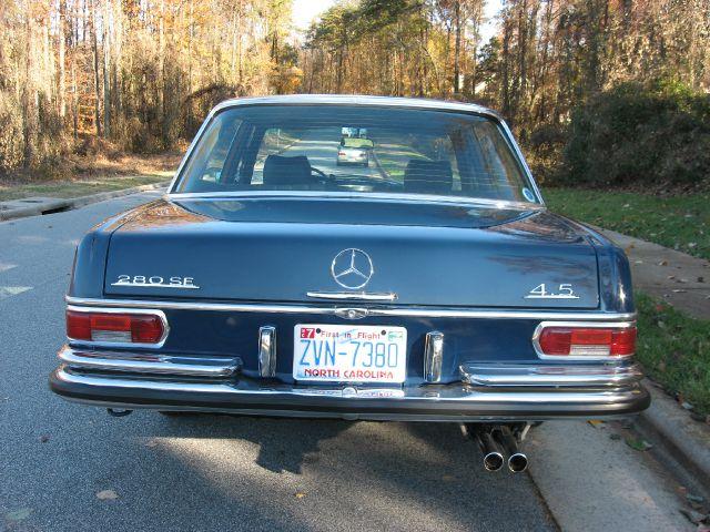 1973 mercedes benz 280 280se 4 5 details greensboro nc 27409 for 1973 mercedes benz 280