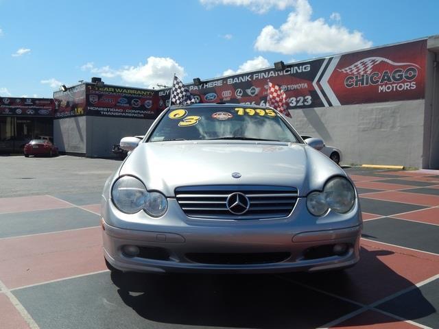 2003 Mercedes-Benz C-Class Series 4
