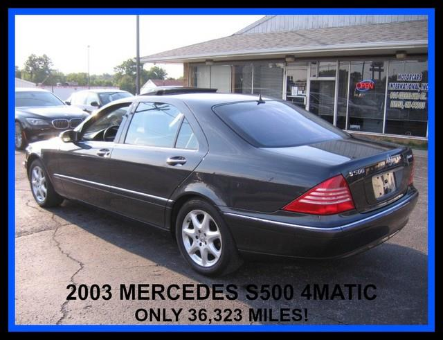 2003 Mercedes-Benz S-Class 1500 Club Coupe Short Bed