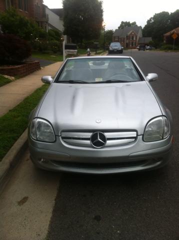 2001 Mercedes-Benz SLK 2dr HB DSG Hatchback