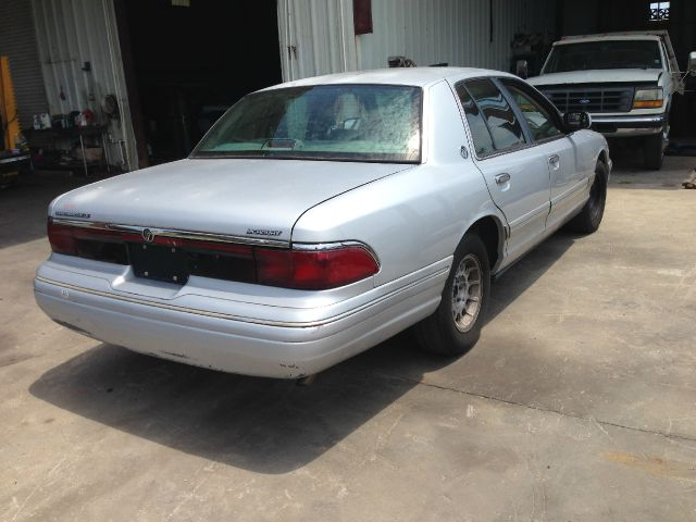 1996 Mercury Grand Marquis Blk Ext With Silver Trin