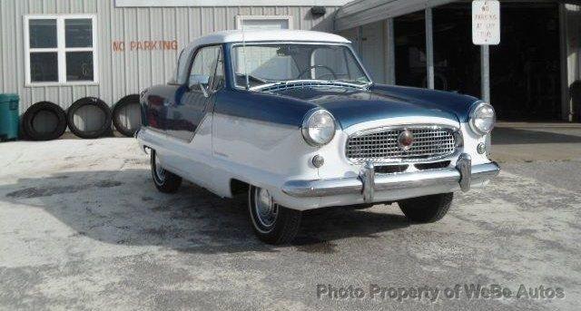 1960 Nash Metropolitan Reg Cab 133 WB 2WD