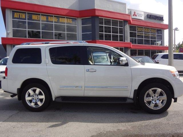 2011 Nissan Armada With Leather And DVDs