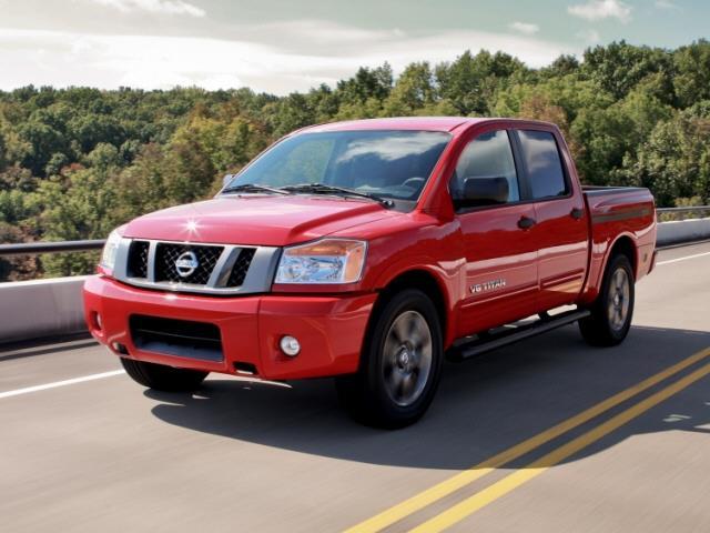2014 Nissan Titan 2WD MEGA CAB 160.5 SXT