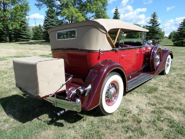 1934 Packard Phaeton