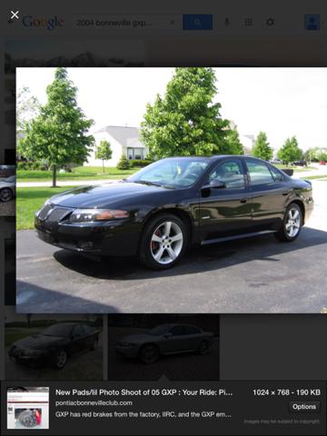 2004 Pontiac Bonneville Special