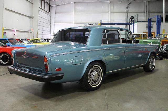 1978 Rolls-Royce Silver Shadow LTZ 4x4 Nav DVD