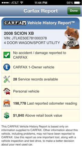2008 Scion xB SW2
