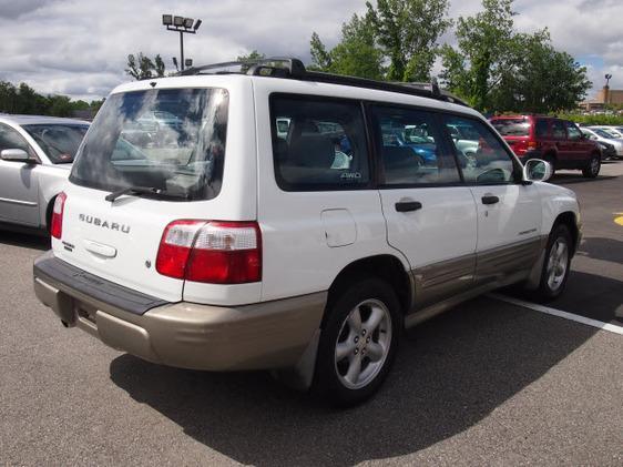 2001 Subaru Forester XR