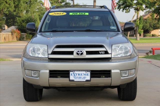 2003 Toyota 4Runner C1500 SLE 4X2