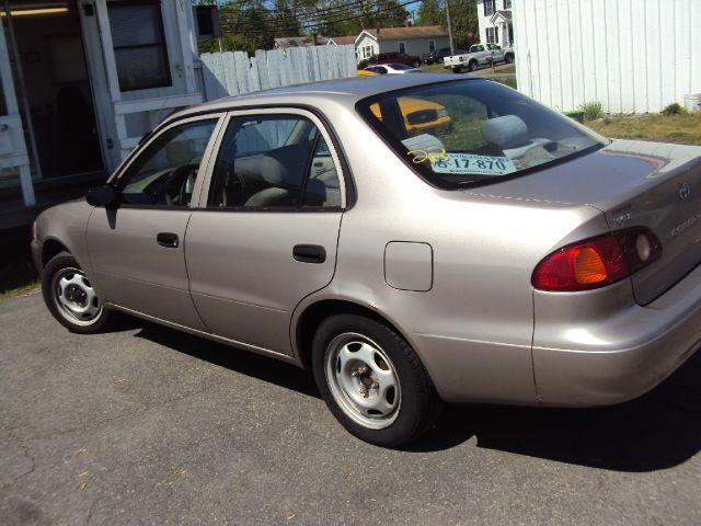 2002 Toyota Corolla X