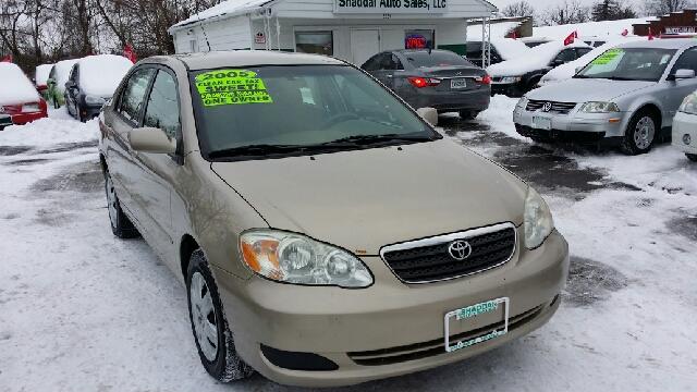 2005 Toyota Corolla X