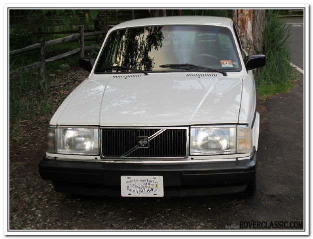 1992 Volvo 240 LS Flex Fuel 4x4 This Is One Of Our Best Bargains