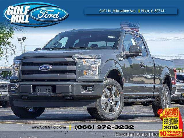 2017 Ford F-150 4x4 Lariat 4dr SuperCab 6.5 ft. SB