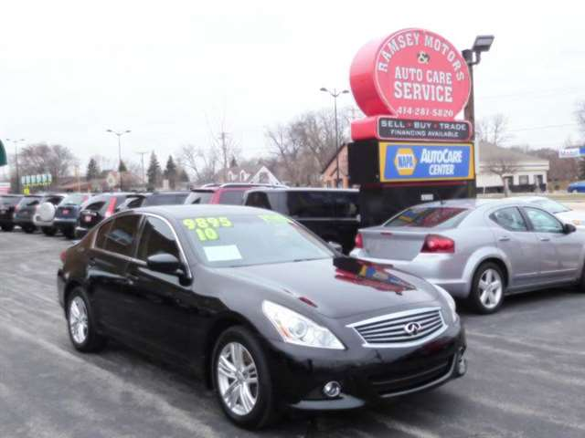2010 Infiniti G37 Sedan AWD x Anniversary Edition 4dr Sedan