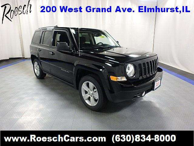2017 Jeep Patriot Latitude 4dr SUV