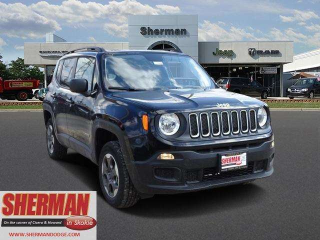 2017 Jeep Renegade 4x4 Sport 4dr SUV